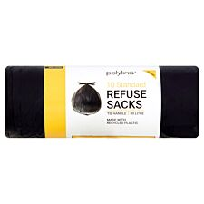 Polylina Large Bin Bags - Pack of 10