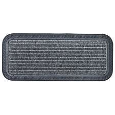 Home Essentials 25 x 60cm Rubber Boot Mat - Grey