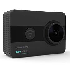 Kaiser Baas X250 1080p Action Camera - 60FPS