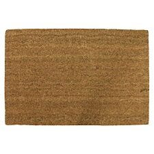 Home Essentials 40 x 60cm Coir Doormat - Natural