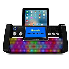 Easy Karaoke EKS780-BT Bluetooth Karaoke Machine - Black