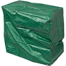 Draper Barbecue Cover (1500 x 1000 x 1250mm) - Green