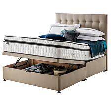 Silentnight Mirapocket Geltex 2000 Ottoman Divan Bed - Sandstone