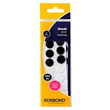 Korbond Care & Repair Handy Dots Black and White - 12 Piece