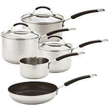 Meyer Stainless Steel Induction Cookware Set - 5 Piece
