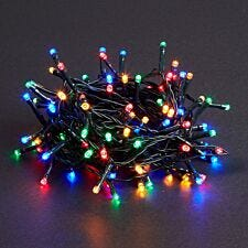 Robert Dyas Mains Operated LED String Lights - Multicoloured