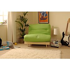 Albury Sof Bed Set With Tufted Mattress - Lime