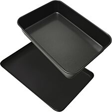 Robert Dyas Medium Oven Tray and Roast & Bake Pan Set