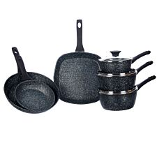 Salter Megastone 6-Piece Pan Set
