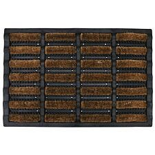 Mud Stopper 40 x 60cm Mudbuster Doormat - Natural