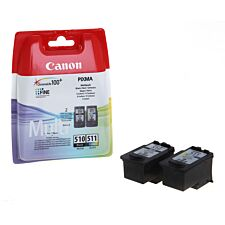 Canon PG510 / CL511 Ink Cartridges – Multipack