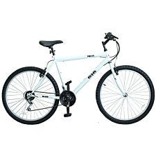 Flite Rapide Men's Rigid Mountain Bike 20-Inch – White