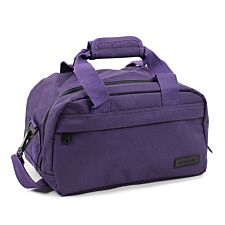 Members by Rock Luggage Essential Under-Seat Hand Luggage Bag – Purple