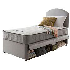 Silentnight Maxi Store Single Bed - Slate Grey