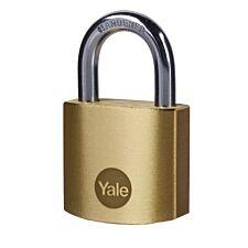 Yale Brass Padlock 30mm - Pack of 2
