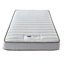 Silentnight Healthy Growth Imagine Sprung Bunk Mattress - White & Grey
