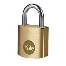 Yale Brass Padlock 20mm - Pack of 4