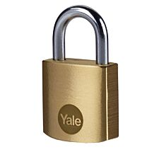 Yale Brass Padlock 25mm - Pack of 2
