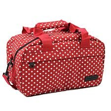 Members by Rock Luggage Essential Under-Seat Hand Luggage Bag - Red