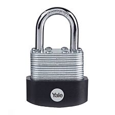 Yale Laminated Steel Padlock 40mm