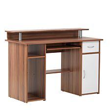 Alphason Albany Office Desk – Walnut