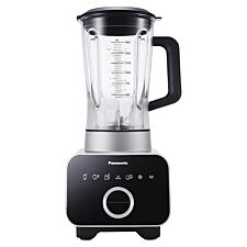 Panasonic 1.8L High Speed Blender with Ice Pack Attachment - Black/Silver