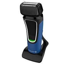 Remington Men's Corded/Cordless Comfort Series Aqua Shaver - Blue & Black