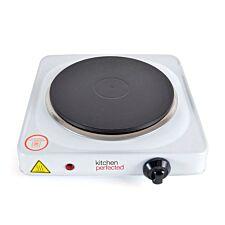 Lloytron Kitchen Perfected 1500W Single Hotplate - White