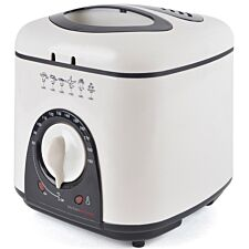 Lloytron E6010WI Kitchen Perfected 1L 950W Compact Deep Fryer – White