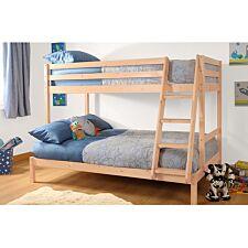 Bexley Single Triple Bunk Bed - Natural