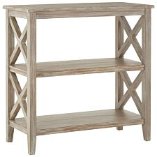 Heritage Bookcase Winter Wood 3 Shelves