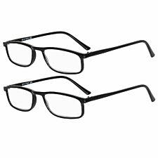 Betaview Duo Pack Strength 2.0 Unisex Reading Glasses - Black