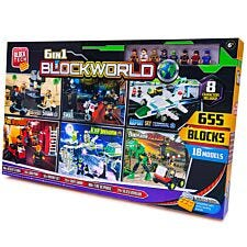 6 in 1 Blockworld Model Set