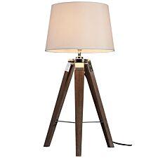 Bailey Table Lamp Brown / Tripod