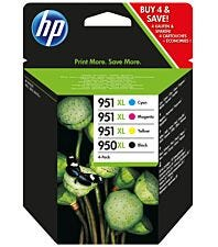 HP Hewlett-Packard 950/951XL C2P43AE Ink Cartridges - Combo Pack