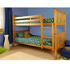 Chelsea Single Bunk Bed - Caramel