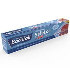 Bacofoil Medium SafeLoc Storage Bags – 15 Pack