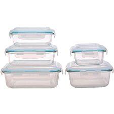 Sabichi 5-Piece Glass Storage Set