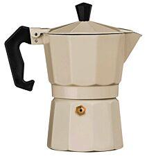 Premier Housewares 3-Cup Espresso Maker - Cream