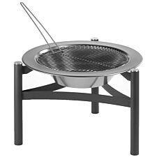 Dancook Fire Pit 9000 - Black/Silver