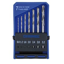 Dremel 7-Piece Precision Drill Bit Set