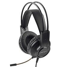 Intempo Quest WS40 Wired Gaming Headphones - Black