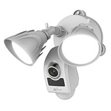 EZVIZ LC1 Outdoor Floodlight Security Camera with Siren - White