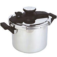 Prestige 6L Pressure Cooker - Stainless Steel