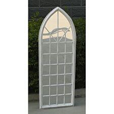 Charles Bentley Garden Trellis Arch Mirror - White