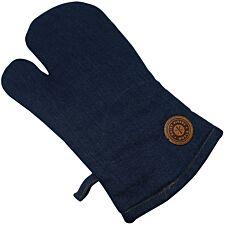 Hairy Bikers Stonewash Blue Single Oven Glove