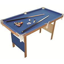 Charles Bentley 4ft American Blue Pool Games Table