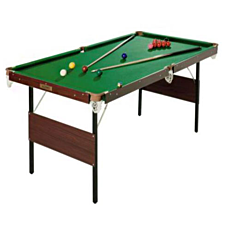 Charles Bentley 4ft 6in Snooker Games Table - Green