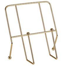 Premier Housewares Gold Cookbook Stand