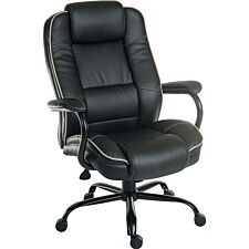 Teknik Goliath Duo Heavy-Duty Executive Chair - Black